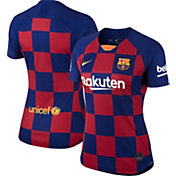 Nike Women's FC Barcelona '19 Breathe Stadium Home Replica Jersey