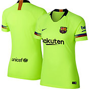 Nike Women's Barcelona FC 2018 Breathe Stadium Away Replica Jersey