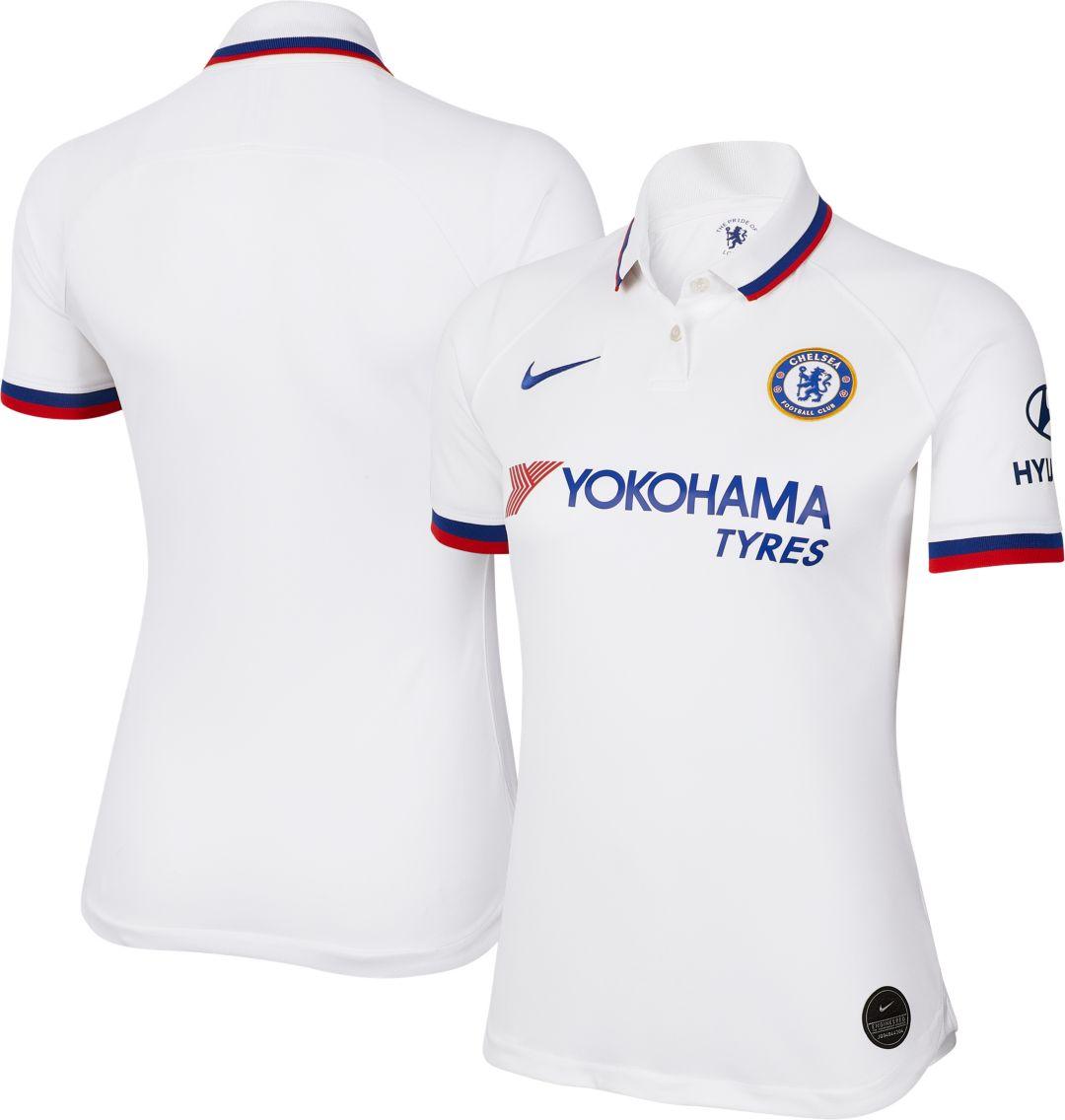 finest selection 38c71 871b6 Nike Women's Chelsea FC '19 Breathe Stadium Away Replica Jersey
