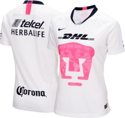 8cb747ec314 Nike Women s Pumas UNAM 2018 Breathe Stadium Home Replica Jersey ...
