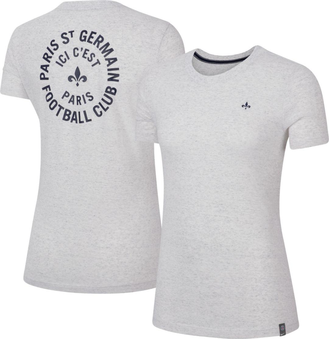 8b0d7f191b Nike Women's Paris Saint-Germain Story Telling White T-Shirt