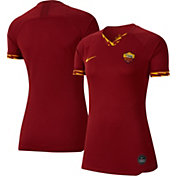 Nike Women's AS Roma '19 Breathe Stadium Home Replica Jersey