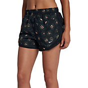 Nike Women's Dry Floral Printed 3'' Tempo Running Shorts
