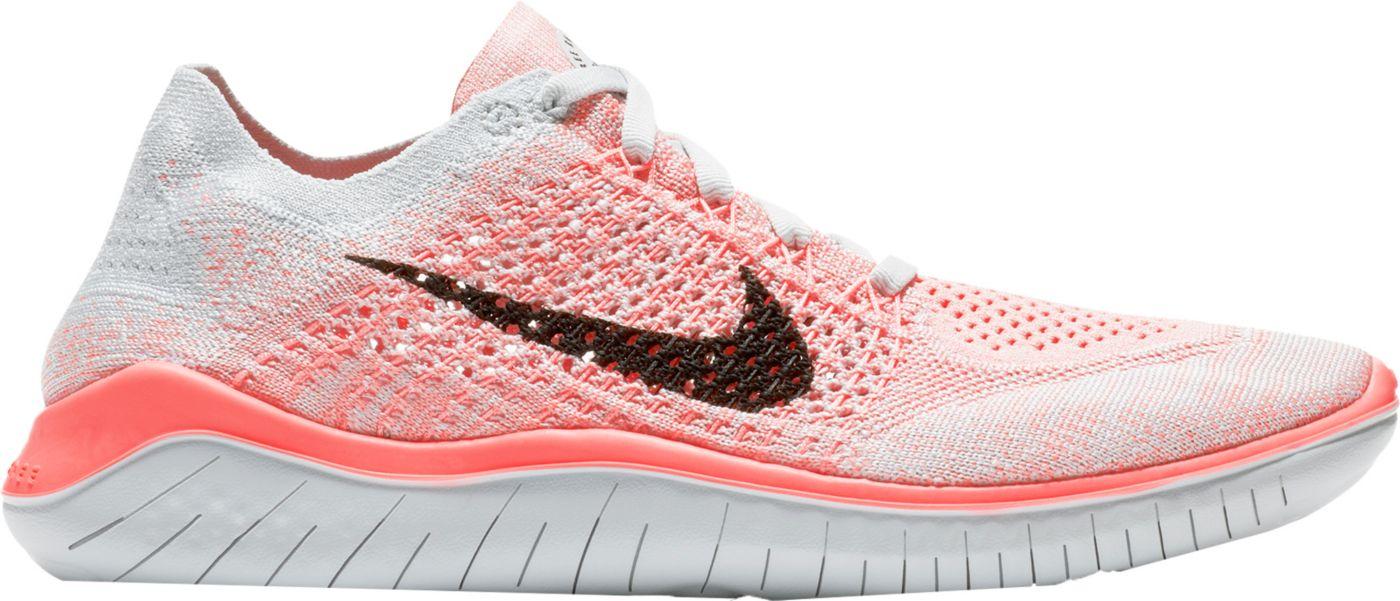 Nike Women's Free RN Flyknit 2018 Running Shoes