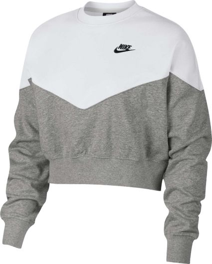 88a6bb22874d15 Nike Women s Sportswear Heritage Crew Pullover