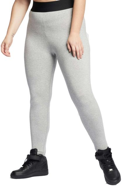 35513af02d2963 Nike Women's Plus Size Sportswear Leg-A-See Leggings | DICK'S ...