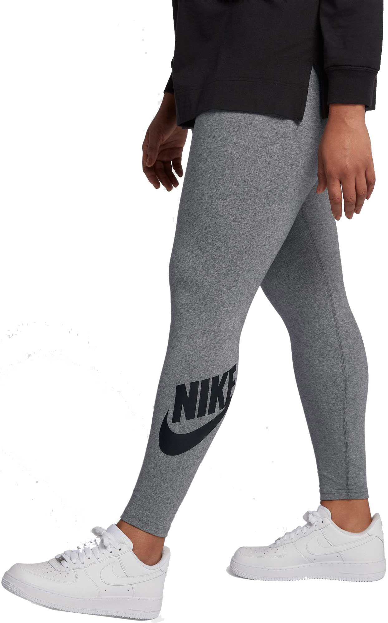 dd12e14b252f4c Nike Women's Plus Size Sportswear High Waisted Leg-A-See Leggings ...