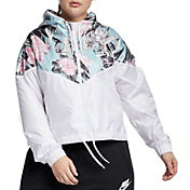 Nike Women's Plus Size Hyper Femme Cropped Windrunner