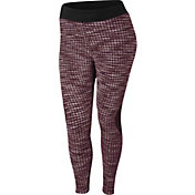 Nike Women's Plus Size Pro HyperWarm Brushed Tights