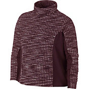 Nike Women's Plus Size Pro HyperWarm Brushed Pullover