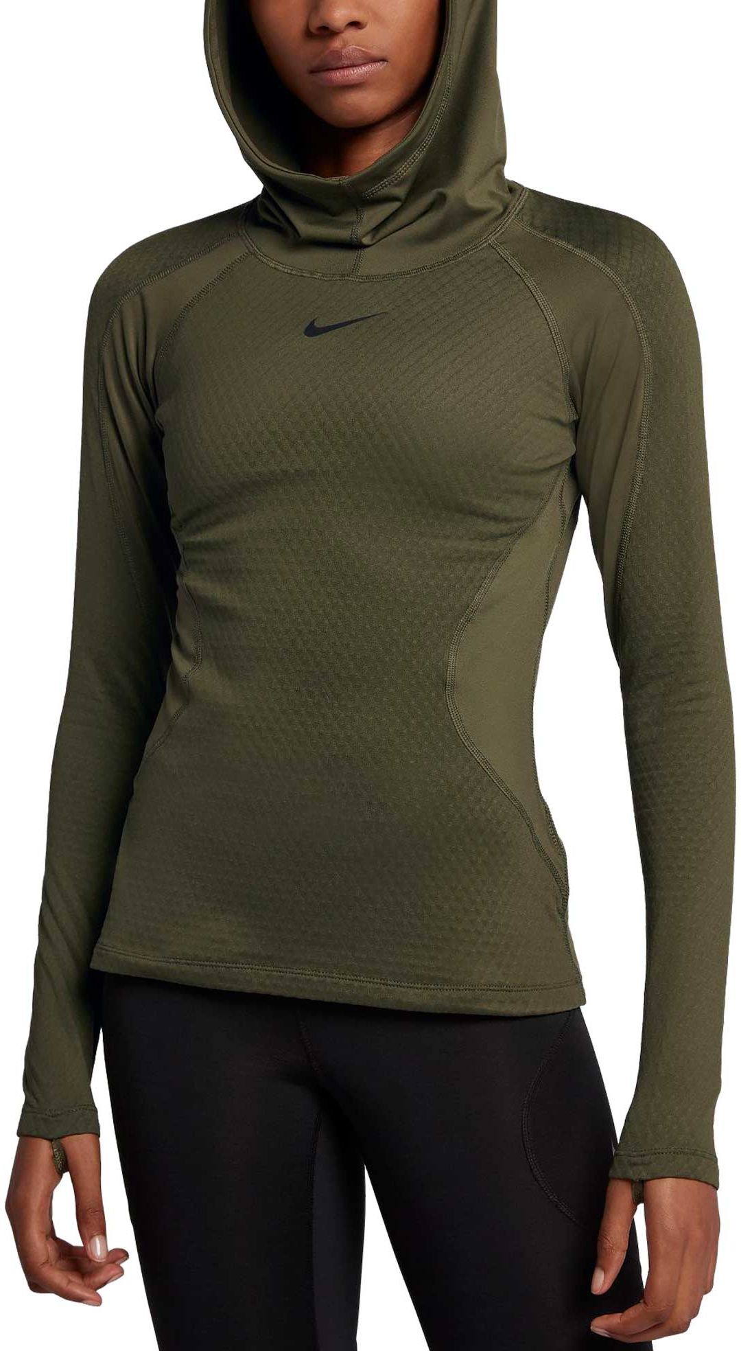 Flot Nike Women's Pro HyperWarm Training Hoodie | DICK'S Sporting Goods IM-26