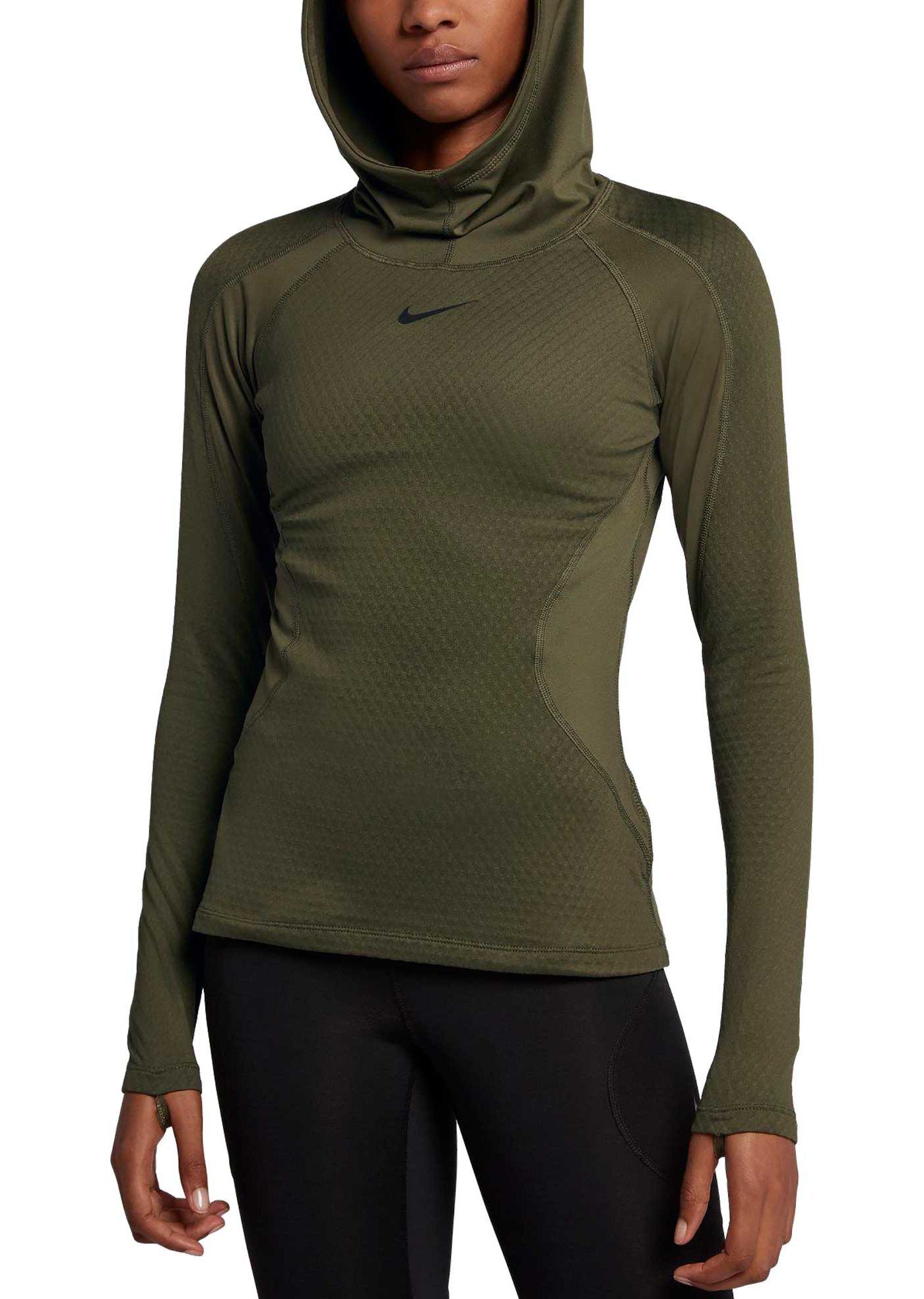 Nike Women's Pro HyperWarm Training Hoodie