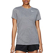 8a7f0c18cc0d Product Image · Nike Women s Dry Legend T-Shirt. Black Heather · Dk Grey  Heather · White ...