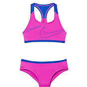 Nike Girls' Macro Swoosh Racerback Sport Top Brief Set