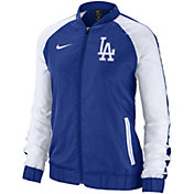 Nike Women's Los Angeles Dodgers Dri-FIT Full-Zip Varsity Jacket