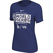Nike Women's 2018 World Series Los Angeles Dodgers Royal T-Shirt