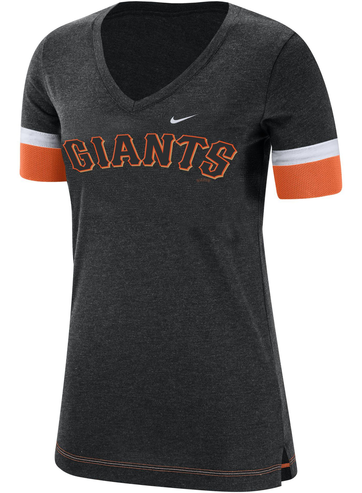 Nike Women's San Francisco Giants Dri-FIT V-Neck T-Shirt