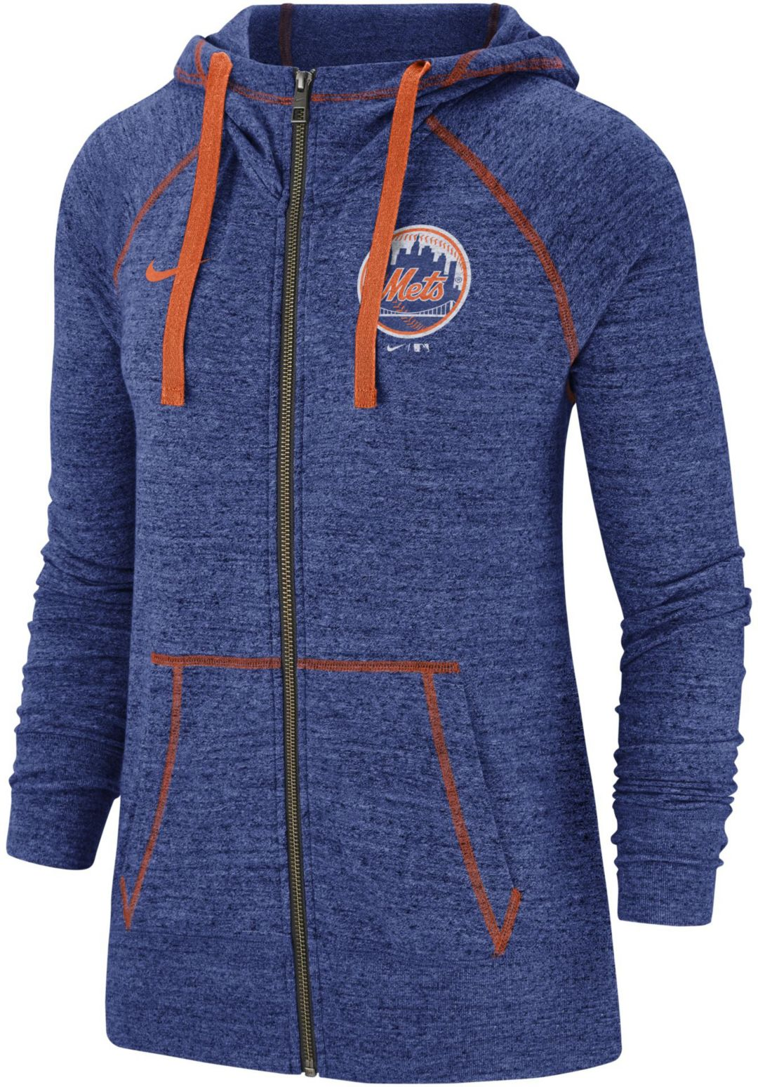 outlet store 35720 f0d43 Nike Women's New York Mets Vintage Full-Zip Hoodie