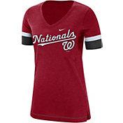 Nike Women's Washington Nationals Dri-FIT V-Neck T-Shirt