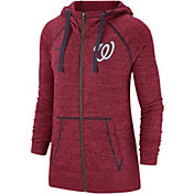 Nike Women's Washington Nationals Vintage Full-Zip Hoodie