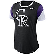 Nike Women's Colorado Rockies Tri-Blend T-Shirt