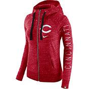 Nike Women's Cincinnati Reds Vintage Full-Zip Hoodie