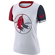 Nike Women's Boston Red Sox Dri-FIT Slub Logo T-Shirt