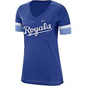 Nike Women's Kansas City Royals Dri-FIT V-Neck T-Shirt
