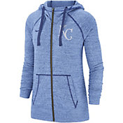 Nike Women's Kansas City Royals Vintage Full-Zip Hoodie