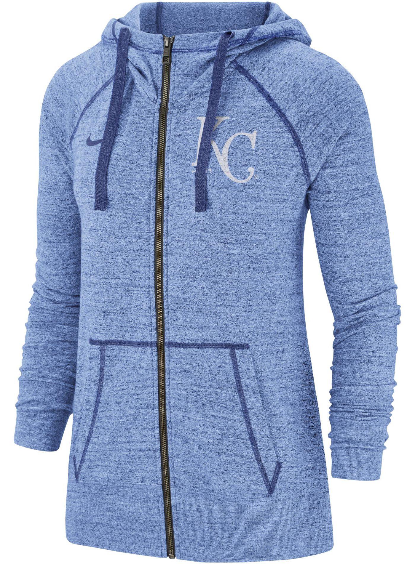 Nike Women's Kansas City Royals Vintage Full-Zip Hoodie