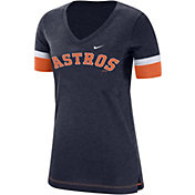 Nike Women's Houston Astros Dri-FIT V-Neck T-Shirt