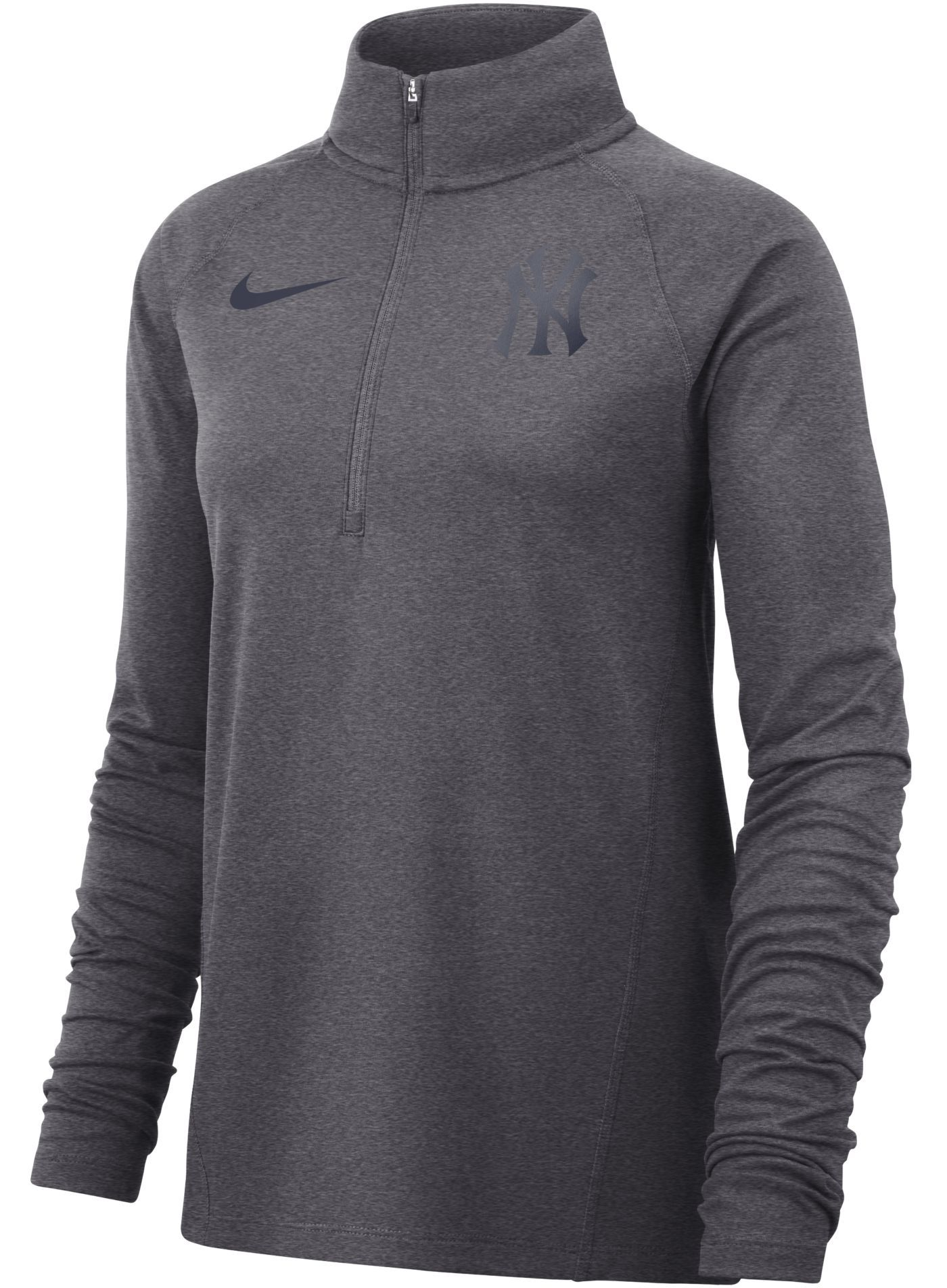 Nike Women's New York Yankees Dri-FIT Half-Zip Pullover