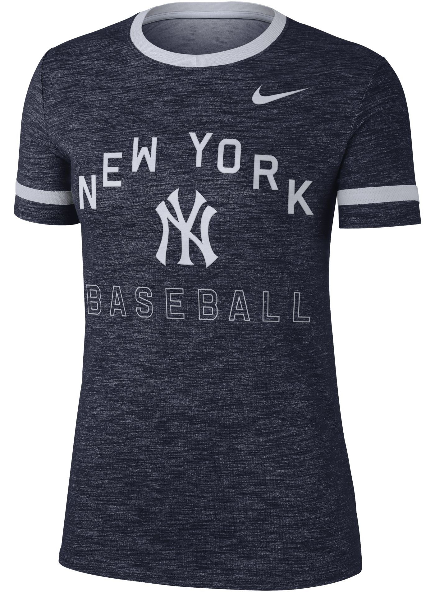 Nike Women's New York Yankees Dri-FIT Slub Crew T-Shirt