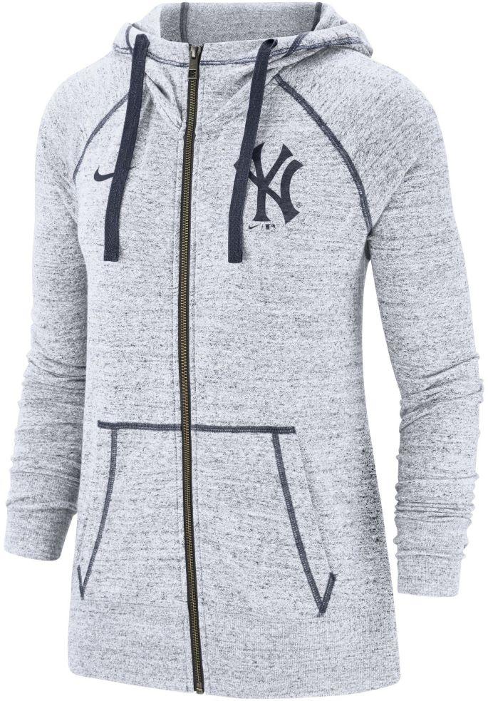 reputable site ee3e5 0290b Nike Women's New York Yankees Vintage Full-Zip Hoodie