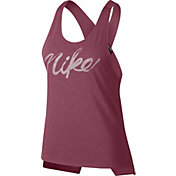 Nike Women's Miler Graphic Cross Back Running Tank Top