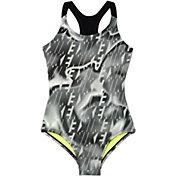 Nike Girls' Amp Axis Racerback Sport Swimsuit