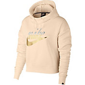 Nike Women's Plus Size Metallic Rally Hoodie