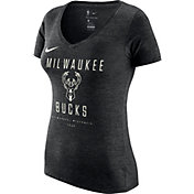 Nike Women's Milwaukee Bucks Dri-FIT V-Neck T-Shirt