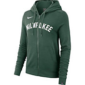 Nike Women's Milwaukee Bucks Full-Zip Hoodie