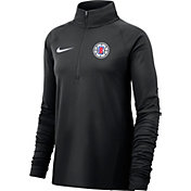 Nike Women's Los Angeles Clippers Dri-FIT Element Half-Zip Pullover