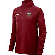 Nike Women's Cleveland Cavaliers Dri-FIT Element Half-Zip Pullover