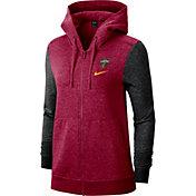 Nike Women's Cleveland Cavaliers Raglan Full-Zip Hoodie