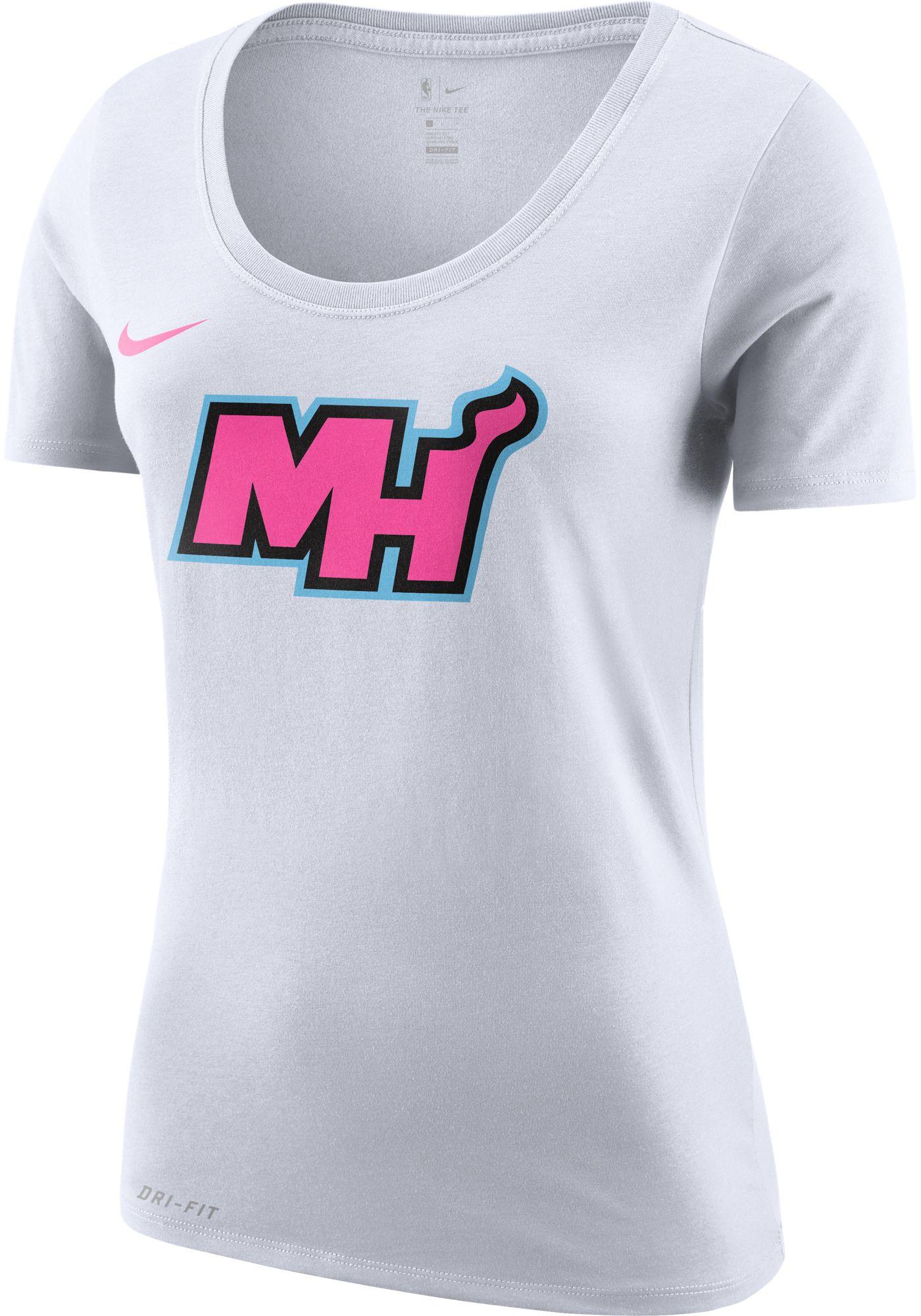 Nike Women's Miami Heat Dri-FIT Earned Edition T-Shirt