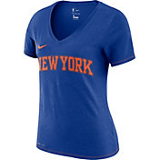 Nike Women's New York Knicks Dri-FIT V-Neck T-Shirt