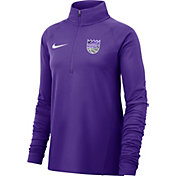 Nike Women's Sacramento Kings Dri-FIT Element Half-Zip Pullover
