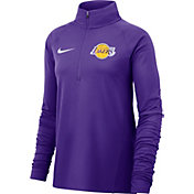 Nike Women's Los Angeles Lakers Dri-FIT Element Half-Zip Pullover