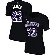 c1c3743e88a Product Image · Nike Women s Los Angeles Lakers LeBron James Dri-FIT Black T -Shirt