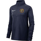 Nike Women's Denver Nuggets Dri-FIT Element Half-Zip Pullover