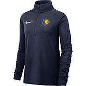 Nike Women's Indiana Pacers Dri-FIT Element Half-Zip Pullover