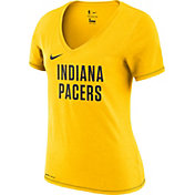 Nike Women's Indiana Pacers Dri-FIT V-Neck T-Shirt